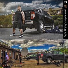 Image by @amrsaadanyphotography | #bts shooting @eddie_hall_strong Uk's…