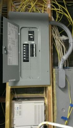 Super Neat Electrical Panel Cabling A Bit Different But