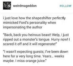 The shapeshifter was pretty spot-on with his Ford impersonation