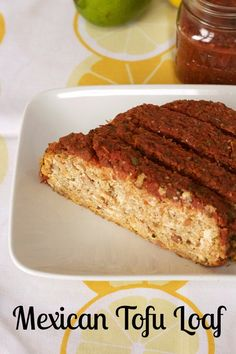 Mexican Tofu Loaf www.veganmotherhubbard.com