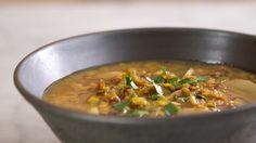 La zuppa di porro e patate