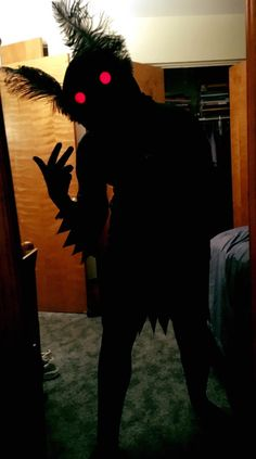 Mothman costume progress!
