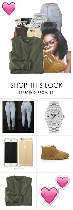12/05/15 by ayeeitsdessa on Polyvore featuring Rolex and UGG Australia