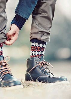 Just because most other people's socks are white, and boring, doesn't mean yours have to be!