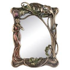 Art Nouveau Calla Lily Mirror