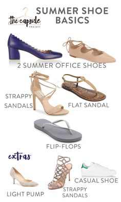 The Complete Shoe Wardrobe — The Capsule Project Shoe Wardrobe, Travel Wardrobe, Wardrobe Basics, Work Wardrobe, Shoe Basics, Professional Wardrobe, Capsule Wardrobe Essentials, Purse Essentials, Keep Shoes