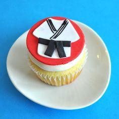 karate cupcake