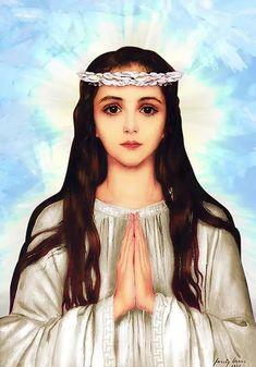 Saint Philomena, virgin and martyr Mama Mary, Mary I, Mother Mary, Catholic Art, Catholic Saints, Saint Philomena, Saint Dominic, St Clare's, Religion Catolica