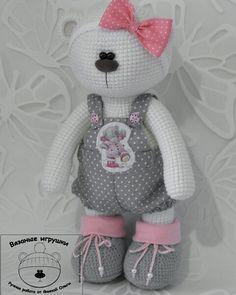 Добрый вечер) #мишка #игрушка #вязание #вязаныймишка #ручнаяработа #handmade #amigurumitoys #amigurumi #weamiguru #world_best_ideas #toys_gallery #best_handmade_world by yanina_olga_handmade