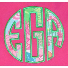 Lilly Pulitzer monogram pocket t-shirt ($20) ❤ liked on Polyvore