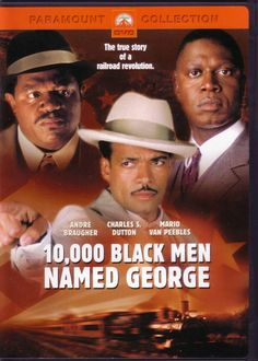 """10,000 Black Men Named George - During the Depression, gainful employment is practically nonexistent for African-Americans. The only available jobs are as porters for the Pullman Rail Company (which pays blacks one-third of what white employees make). Journalist Philip Randolph makes it his mission to help these forgotten workers - called """"George,"""" after company founder George Pullman - and helps form the first black union in America."""