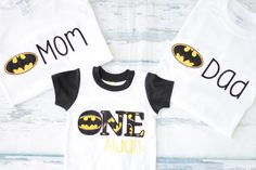 Hey, I found this really awesome Etsy listing at https://www.etsy.com/listing/293464237/baby-boy-first-birthday-batman-number