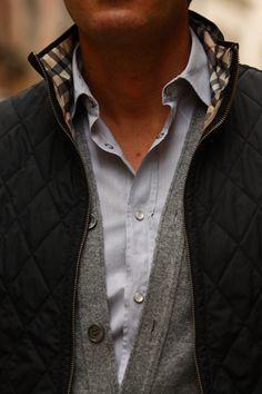 Vest + Sweater