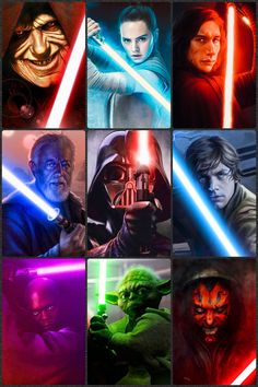 Jedi and Sith Star Wars