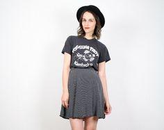 Vintage Skater Skirt Grunge Skirt 1990s 90s by ShopTwitchVintage, $32.00
