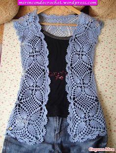"""Colete de moda para o verão """"Mermaid Cove"""" - unidos em linha - Home Moms"""