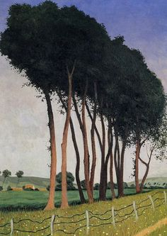 Felix Vallotton - Family of Trees, 1922