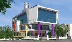 nebulae developer offering best contemporary office design with quality construction