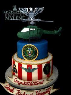 Military - Cakes by Mylene Military Retirement Parties, Retirement Cakes, Military Cake, Going Away Parties, Desserts, Food, Tailgate Desserts, Deserts, Essen
