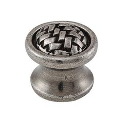 "Vicenza Designs Cestino Mushroom Knob Size: 1.125"" H x 1.125"" W x 1"" D, Finish: Antique Brass"