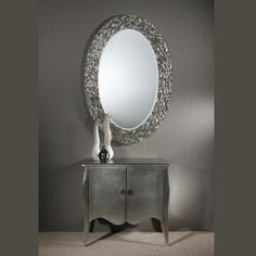 The Icarus Silver mirror from Deknudt is a stunning mirror for those who like imperfections. Glass Furniture, Contemporary, Big Mirrors, Silver, Stuff To Buy, Accessories, Bathroom, Washroom, Full Bath