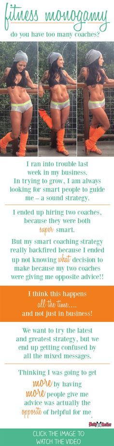 Fitness Monogamy: Do YOU Have Too Many Coaches? Coach Me, Life Motivation, Smart People, True Quotes, Self Improvement, Fitness Inspiration, Competition, Health Fitness, Strong