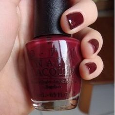 Dark red, its perfect! :)