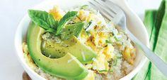 Quinoa and Avocado Scram Slam