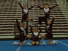 cheer stunts - Google Search                                                                                                                                                     More