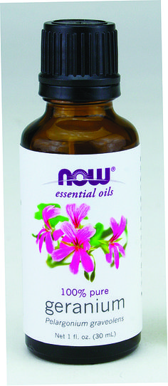 Now Geranium Oil 30 mL | Sunrise Health Foods