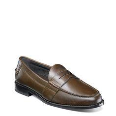 cad7859d0f9 Men s Noah Medium Wide Moc Toe Penny Loafer