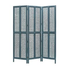 Room Divider in Blue.