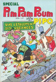Pim Pam Poum Pipo, un illustré que mon père lisait dans la jeunesse et m'a fait découvrir