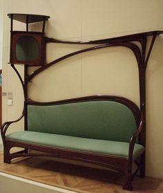 Art Nouveau furniture by superminx, via Flickr. Melbourne, Australia.