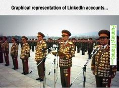 Funny Memes - [Graphical Representation Of Linkedin Accounts...] Check more at http://www.funniestmemes.com/funny-memes-graphical-representation-of-linkedin-accounts/