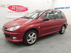 Japanese vehicles to the world: 19553AAN6 2003 Peugeot 206 SW XS RHD for Lesotho t...