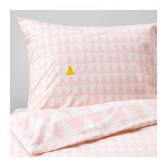 STILLSAMT Duvet cover and pillowcase(s), light pink light pink Twin