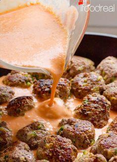 30 Minute Clean Thai Turkey Zucchini Meatballs