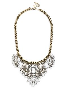 statement necklace for added holiday sparkle!