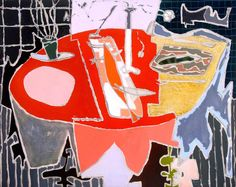 Red Table, 1954 by Patrick Heron (British 1920-1999)