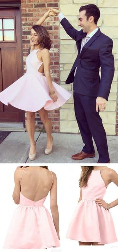 Pink Homecoming Dress, Short Homecoming Dress,Cute Homecoming Dress,Mini Homecoming Dress,Homecoming Dresses 2017, New Homecoming Dresses