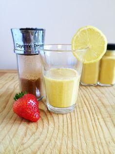 how to make lemon honey cayenne pepper detox drink