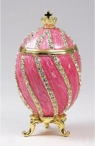 Faberge Eggs and Jewelry