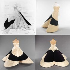 """charles-james-four-leaf-clover-gown Bodice corset with wrappers, """"clover"""" solid condoms, as bottom.  Try bonding with light fabric, gauze?Cheesecloth?"""