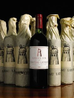 Robert Foresta purchased 2 Latour Cases at Sotheby's London Wine Auction in April 2014 Vintage Wine, Vintage Bottles, Vintage Ideas, Vintage Bags, Vintage Shoes, Chateau Latour, Napa California, Wine Auctions, Wine Sale