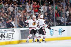 Stars vs. Blackhawks - 01/24/2013 - Toews/Keith