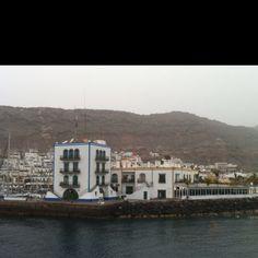 El puerto de Mogan en Gran Canaria