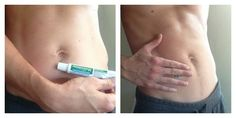 DIY Weight Loss Body Wrap with Preparation H; this helps to shrink blood vessles and tighten the skin. Obviously