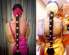 Brides in Pretty Wedding Blouses | Saree Blouse Patterns