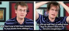 JOHN GREEN           this is so funny but a very good question?